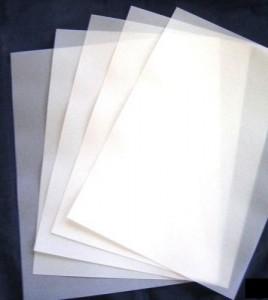 papel vegetal correto